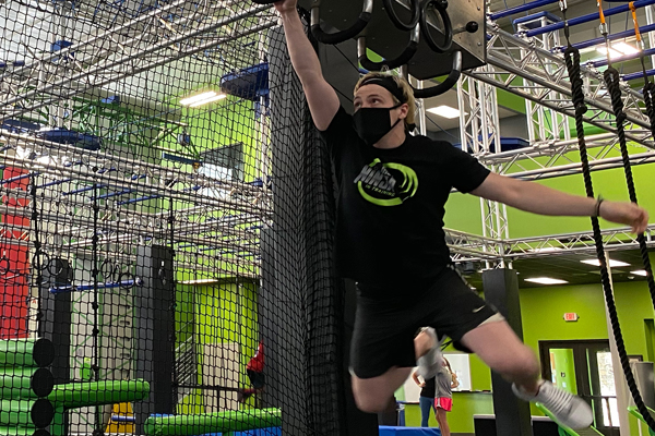 Ninja course at Iron Coyote